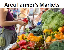 Area Farmer's Markets